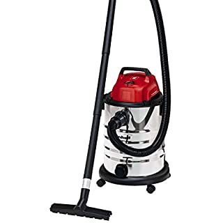 Einhell TC-VC 1930 S 1500 W Wet and Dry Vacuum Cleaner - Red
