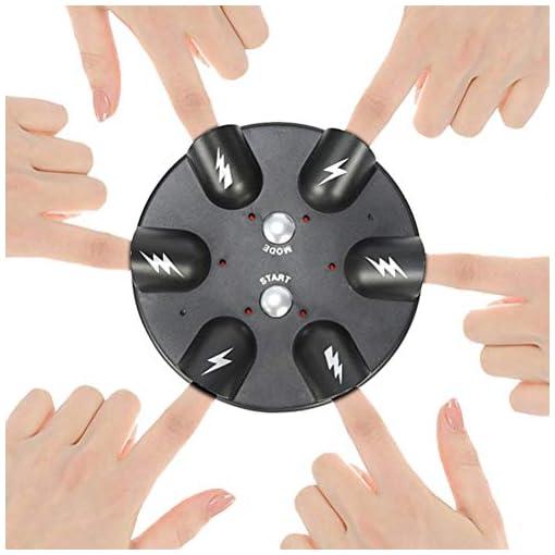 Finger-Roulette-Wheel-Shocking-Game-Indoor-Junggesellenabschiedsspiel-fr-Jugendliche-Erwachsene-Tischtrinkspiele-Stroke-Toy-2-Spielmodi-6-Finger