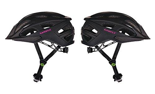 GHOST Helm Classic schwarz/pink 2017 (58 - 63 cm)