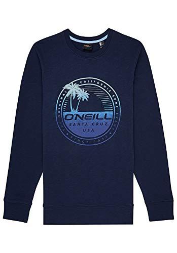 O'Neill Herren LM Palm Island Crew Sweatshirt, Blau (Ink Blue), XL Palm Pullover
