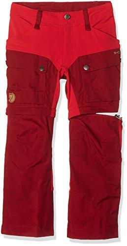 Fjällräven Kinder Kids Keb Gaiter Trousers Trekkinghose, Ox Red, 116