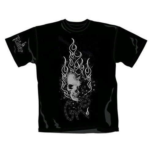 Ghost Rider - T-Shirt Flames (in XL)