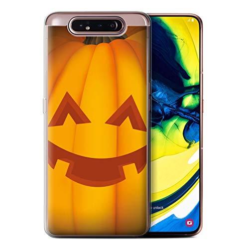 e/Case für Samsung Galaxy A80/A90 2019 / Glücklich Muster/Halloween Kürbis Kollektion ()
