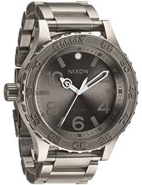 Nixon Herren-Armbanduhr XL 51-30 TI Analog Quarz Titan A351703-00