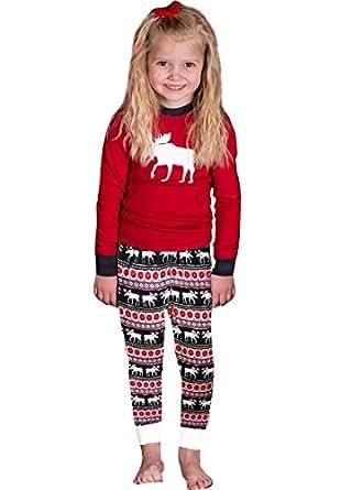 Isshe Pyjama Noel Famille Pyjamas Manches Longues Pyjama De Noel