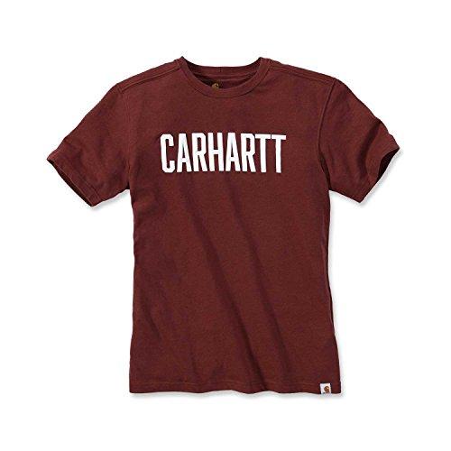 Carhartt Carhartt Maddock Graphic Block T-Shirt Rot XS