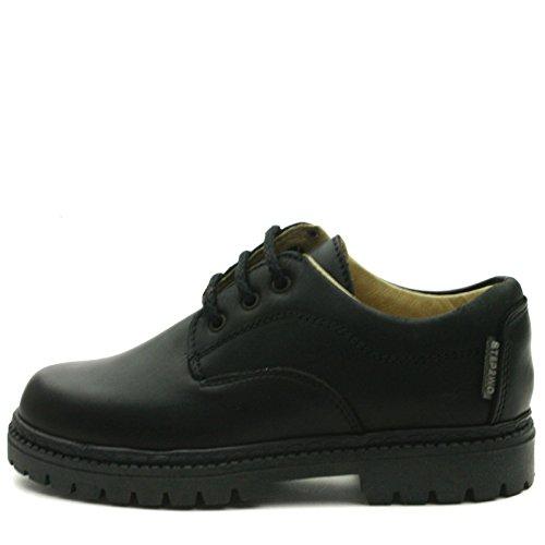 BOSTON Step2wo School Shoe Laceup for Boys >      > Chaussures à lacets de l'école pour les garçons Black (noir)