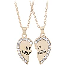 Bling étoiles Cœur Best Friends Forever BFF Break Pendentif diamant colliers d'amitié cadeau pour amis
