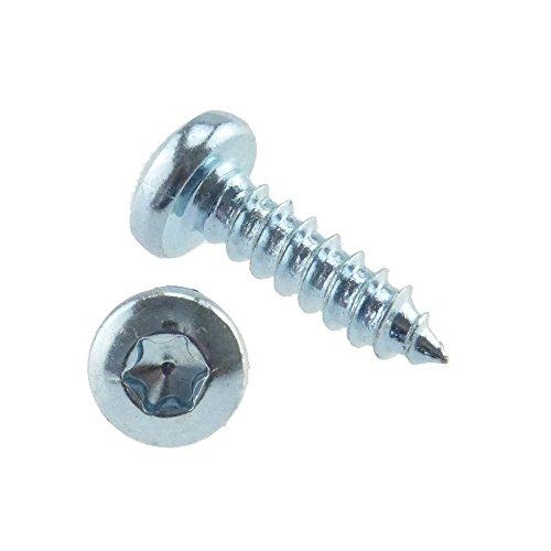 Linsen-Blechschraube ähnlich DIN 7981 Stahl gal zn Form C-ISR 3,5 x 50 - 500 Stück