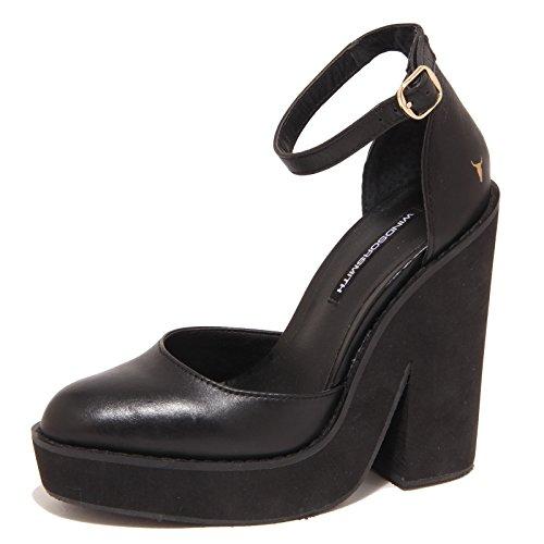 5560O decollete WINDSOR SMITH nero scarpe donna shoes women Nero