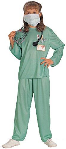 Imagen de rubie's 881061m  disfraz de médico para niño alternativa