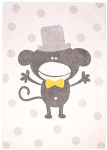 Nattiot Tapis Polka Monkey Beige