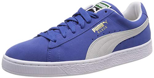 Puma Suede Classic+, Sneaker Unisex – Adulto, Nero (Black-Dark Shadow 77), 40.5 EU