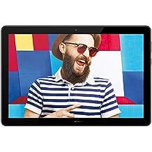 """HUAWEI  Mediapad T5 10 Tablet LTE con Display da 10.1"""" in 16:10, 1920 X 1200, Processore da 2.3 GHz, Memoria RAM da 3 GB, Memoria Interno da 32 GB, Nero"""