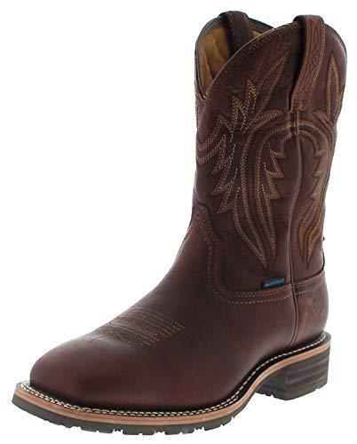 Ariat Herren Cowboy Stiefel 25098 HYBRID Rancher Wasserdichter Westernreitstiefel Braun 43 EU