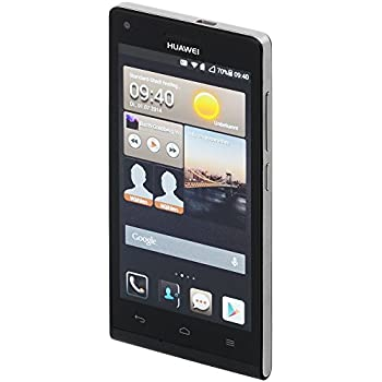"Huawei Ascend G6 (L11)-Smartphone Vodafone,Libre Android (pantalla 4.5"", cámara 8 Mp, 4 GB, 1.2 GHz, 1 GB RAM), Negro"