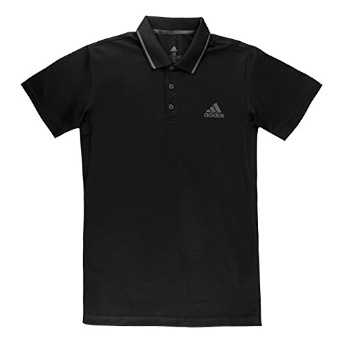 adidas Herren Club Tex Kurzarm Polo-Shirt, Black, 2XL