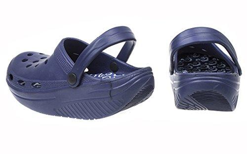 MAPLEAF, Mules pour Homme Bleu - Blu scuro