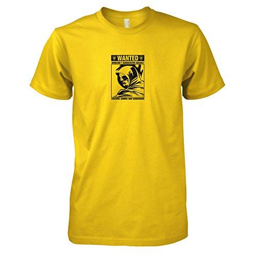 Dc Universum Green Kostüm Lantern - TEXLAB - Wanted Arrow - Herren T-Shirt, Größe XXL, gelb