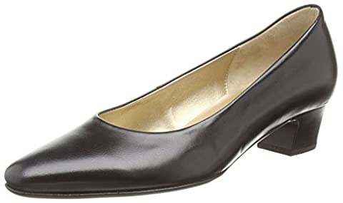 Gabor Company, Women's Closed-Toe Pumps, Black (Black Leather), 8 UK (42 EU)