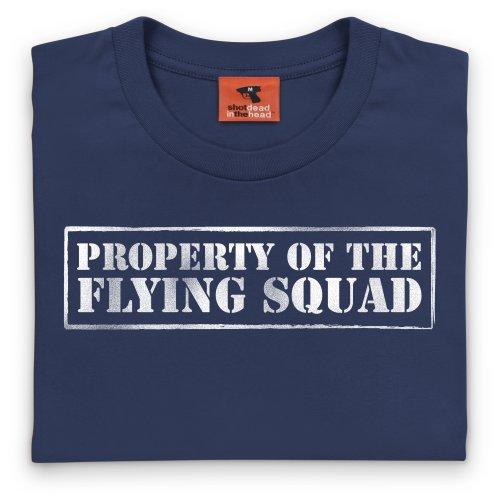 Property of The Flying Squad T-shirt, Uomo Blu navy