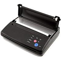 Negro A4Thermal thermischen fotocopiadora impresora Tattoo térmica de transferencia eléctrica Tattoo Papel de transferencia transferencia eléctrica fotocopiadora tatuaje hermal