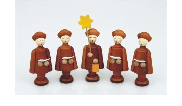Kurrende 27 mm Kurrendefiguren natur Seiffen NEU Weihnachten Kirche
