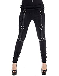 Corset Leggings schwarz Vixxsin