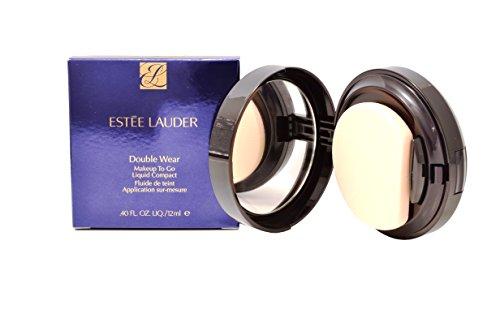 Estée Lauder Double Wear Make Up To Go Liquid Compact, Farbe 4C1, Outdoor Beige, 1er Pack (1 x 12 g) -