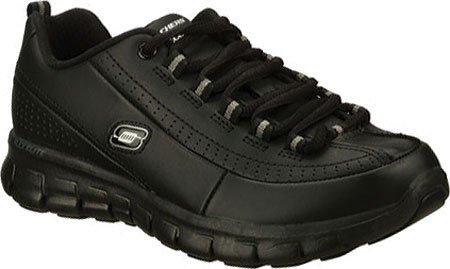Skechers Synergy - Elite Caliber Walking Sneaker Confort Chaussures - Femmes Black