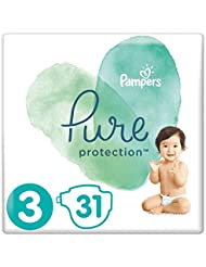 Pampers Pure Protection Size 3 Essential Pack 31 Nappies