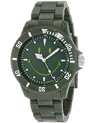 Smiley Happy Time Unisex-Armbanduhr Analog grün WGS-UDGV01
