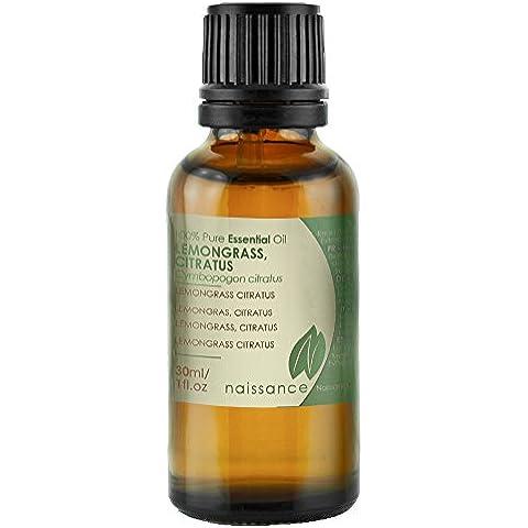 Olio di Lemongrass, Citratus - Olio Essenziale Puro al 100% - 30ml