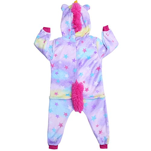 iiniim enfant fille gar on hauts pyjama siamois licorne grenouill re capuche cartoon animal. Black Bedroom Furniture Sets. Home Design Ideas