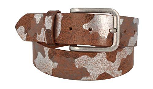 MGM Design / Cintura M Ledergürtel Siera - cognac-kombiniert - 85