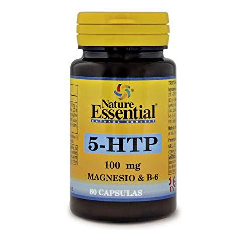 5 Htp Vitamin B (Tryptophan 5-Htp + Magnesium + Vitamin B6 100 mg 60 Kapseln)