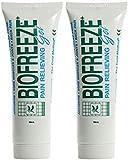 (2 Pack) - Biofreeze - Biofreeze Gel | 59ml | 2 PACK BUNDLE