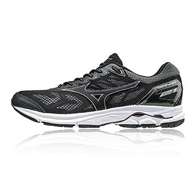 Mizuno Men's Wave Rider 21 Running Shoes, Black: Amazon.co