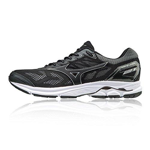 Mizuno Wave Rider 21, Chaussures de Running Homme, Noir Black