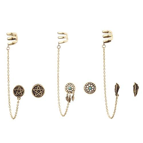 lux-accessori-multipli-motivo-acchiappasogni-pentacolo-terzorecchino-con-foglia