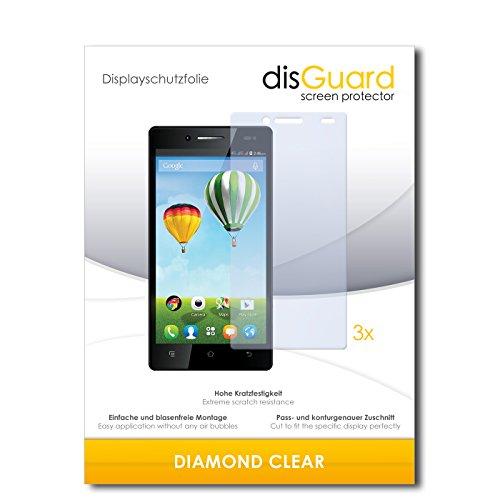 3 x disGuard® Schutzfolie Haier Phone L50 Bildschirmschutz Folie