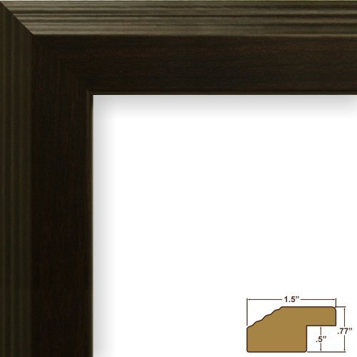 craig-frames-fw4wa-19-by-25-inch-picture-frame-smooth-grain-finish-15-inch-wide-walnut-brown-by-crai