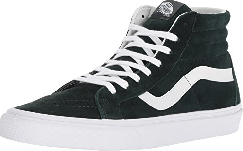 Vans Uomo Darkest Spruce Verde/True Bianco SK8-Hi Reissue Sneaker-UK 9