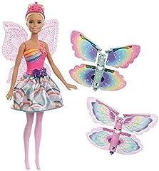 Idea Regalo - Barbie Fatina Magiche Ali dal Mondo di Dreamtopia, FRB08