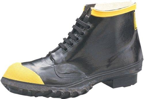 Ranger 6 Scarpe da lavoro in acciaio per uomo Heavy Duty, colore nero e giallo (R1141)