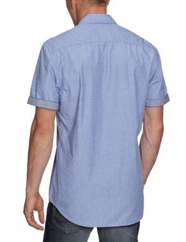 LERROS Herren Freizeithemd 2262246 Blau (cloud 463)