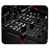 Elmax India DJ System Mouse Pad, Speed-Type Precision Gaming Mouse Pad, Non Slip Base
