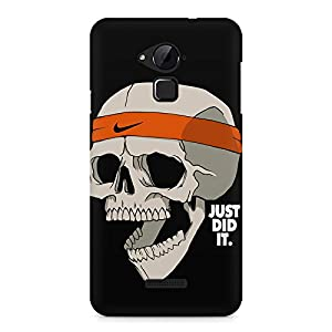 Motivate Box Skull Funny Just Did It ! Design, All Side Printed Hard Plastic Phone's Back case/Cover for Coolpad Note 3