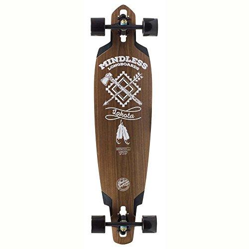 Mindless Longboards Mindless Voodoo Lakota DT III Longboard, Unisex Adulto, Natural, Talla Única