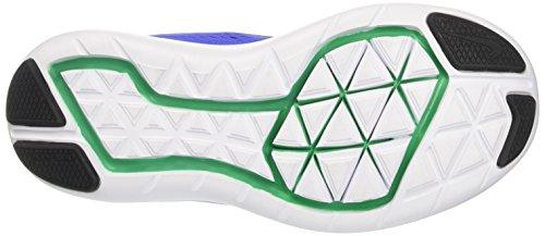 Nike Unisex-Kinder Flex 2016 Rn Gs Laufschuhe Blau (Paramount Blue/black/stadium Green/electrolime/white)
